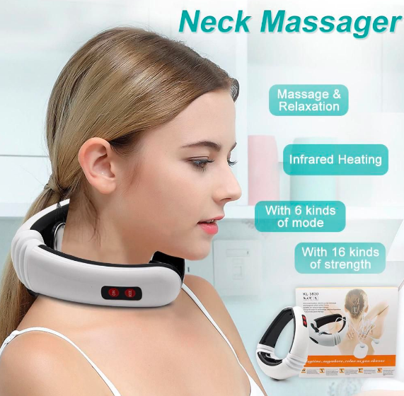 Special Features of NeckMassager