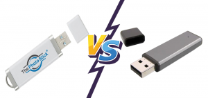 What's the Difference Between a Photo Stick & a Flash Drive?