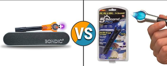 5 Second Fix vs Bondic: What is The Difference