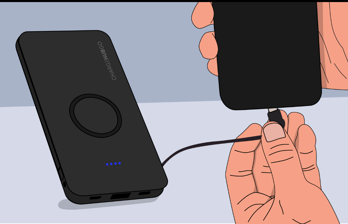 How Do I Use Chargehubgo+ Wireless Power Bank