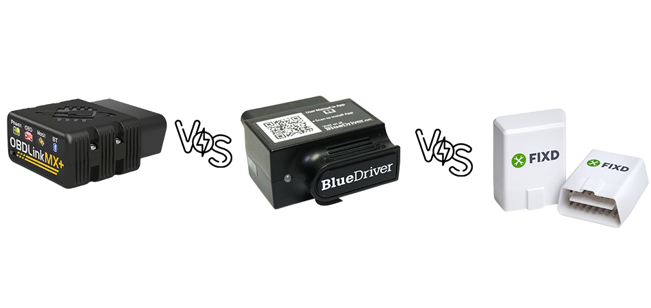 OBDLink MX+ vs BlueDriver vs Fixd: What is The Difference?
