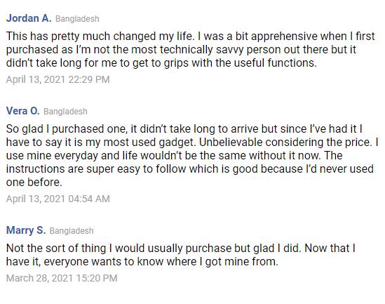 Compilation of Customer Opinion