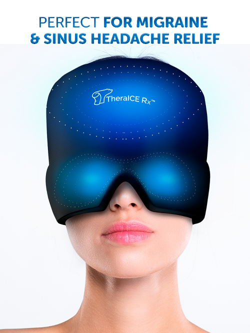 What is the TheraICE Rx Headache Relief Hat
